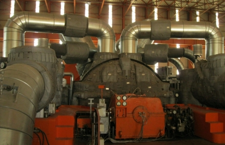 Steam Turbine Insulation